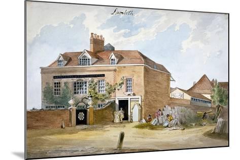 Coade Stone Factory, Narrow Wall, Lambeth, London, C1800--Mounted Giclee Print