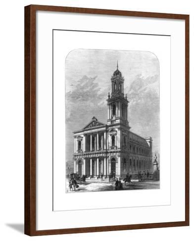 The City Temple, Holborn Viaduct, London, 1875--Framed Art Print