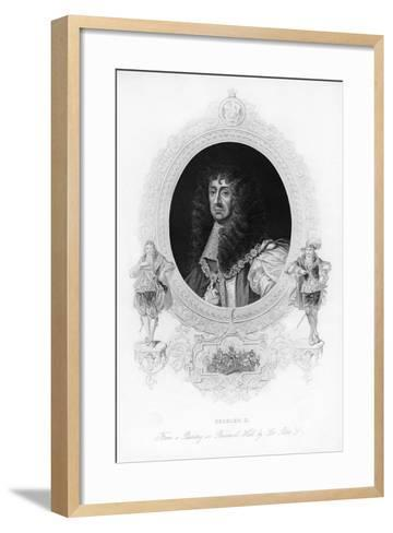 King Charles II, the Merry Monarch-Peter Lely-Framed Art Print