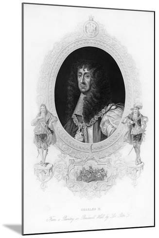 King Charles II, the Merry Monarch-Peter Lely-Mounted Giclee Print