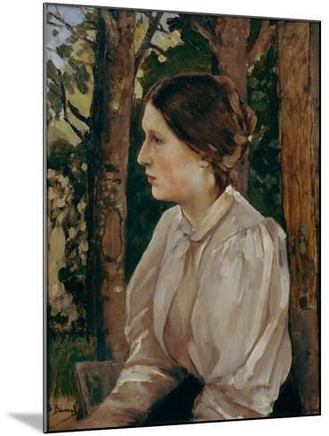 Portrait of Tatyana Viktorovna Vasnetsova, The-Viktor Mikhaylovich Vasnetsov-Mounted Giclee Print