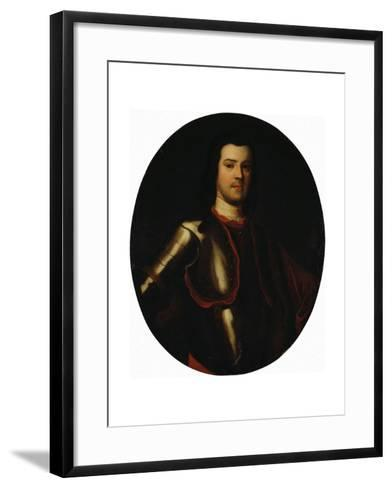 Portrait of Count Anton Manuilovich Devier (1682-174), Early 18th C--Framed Art Print