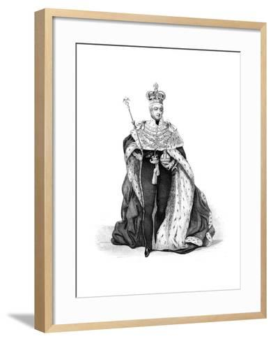William IV, King of the United Kingdom, 1837--Framed Art Print