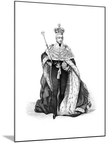 William IV, King of the United Kingdom, 1837--Mounted Giclee Print