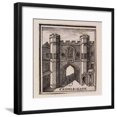 Cripplegate, London, 1750--Framed Art Print