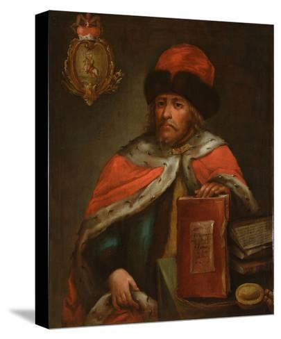 Portrait of Prince Vasily Vasilyevich Galitzine (1643?171), End of 17th C--Stretched Canvas Print