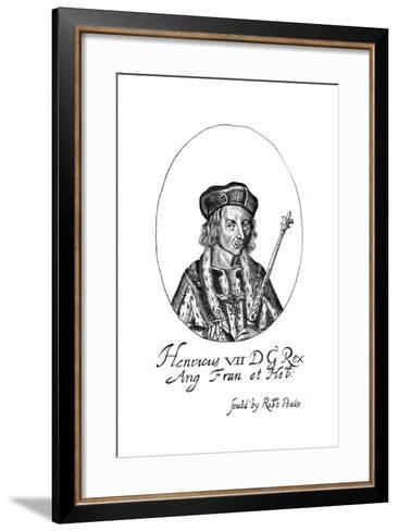 Henry VII of England, (17th Centur)--Framed Art Print