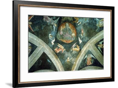 The Eternal Father, Early 16th Century--Framed Art Print