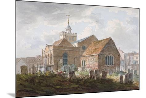 South-East View of the Church of St Mary Magdalene, Richmond, Surrey, C1840--Mounted Giclee Print