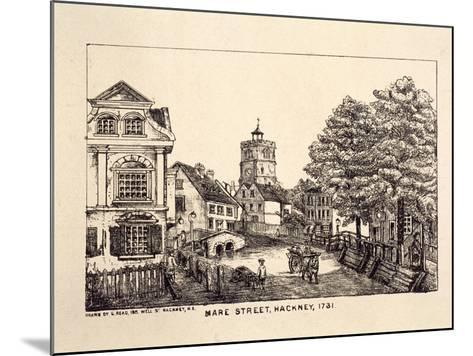 Mare Street, Hackney, London, 1731-C Read-Mounted Giclee Print