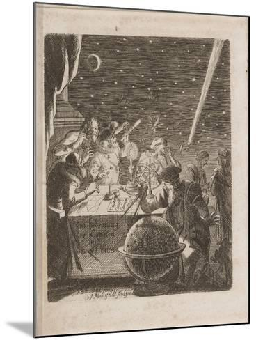 Observing the Heavens in the Age of Galileo, 1681-Pierre Petit-Mounted Giclee Print