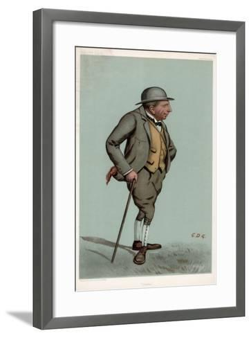 Charlie, Captain Charles Harold Longfield Beatty Dso, British Racehorse Trainer, 1903--Framed Art Print