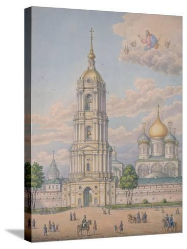 The New Monastery of the Saviour in Moscow, 1851-Alexander Sergeyevich Kutepov-Stretched Canvas Print