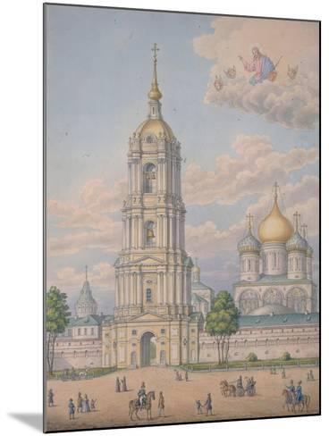 The New Monastery of the Saviour in Moscow, 1851-Alexander Sergeyevich Kutepov-Mounted Giclee Print