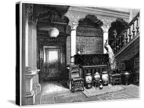 The Hall, C1880-1882--Stretched Canvas Print