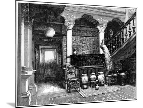 The Hall, C1880-1882--Mounted Giclee Print