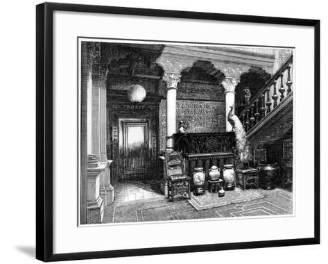 The Hall, C1880-1882--Framed Art Print
