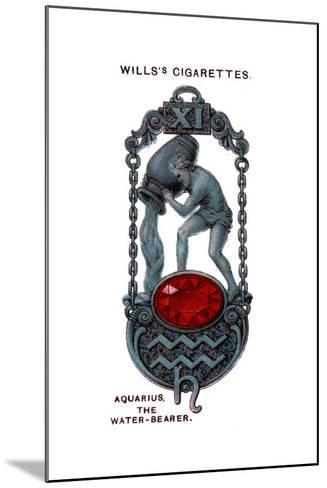 Aquarius, the Water-Bearer, 1923--Mounted Giclee Print