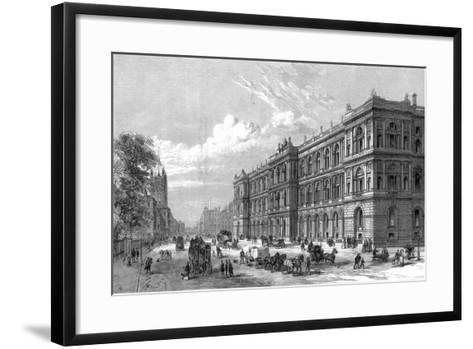The New Home and Colonial Offices, Parliament Street, Westminster, London, 1875--Framed Art Print