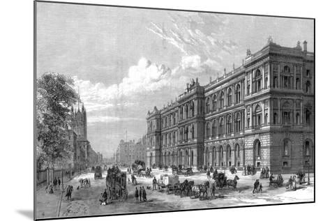 The New Home and Colonial Offices, Parliament Street, Westminster, London, 1875--Mounted Giclee Print