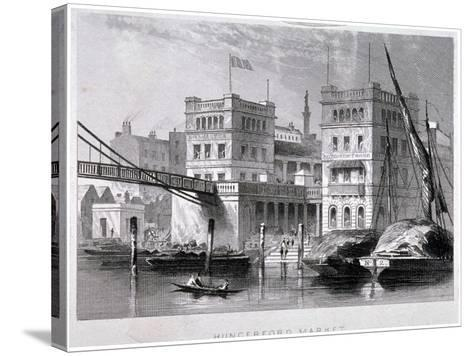 Hungerford Market, Westminster, London, C1847--Stretched Canvas Print