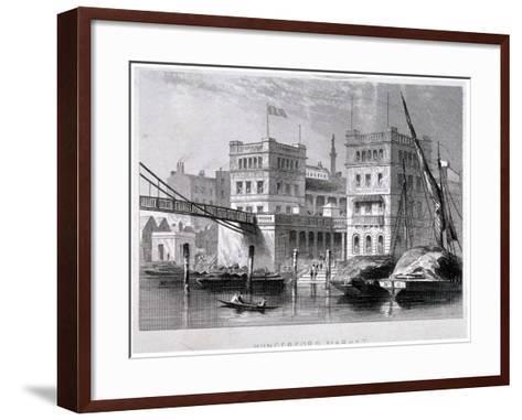 Hungerford Market, Westminster, London, C1847--Framed Art Print