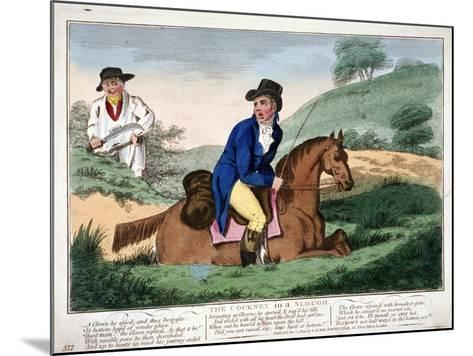 The Cockney in a Slough, 1804--Mounted Giclee Print