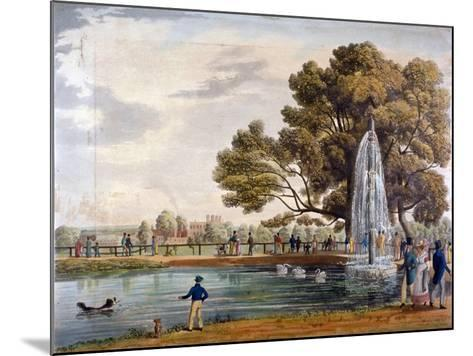 Green Park, Westminster, London, 1826--Mounted Giclee Print