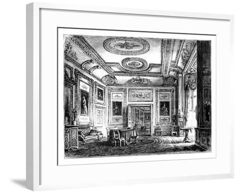 Thw White Drawing Room, Windsor Castle, C1888--Framed Art Print
