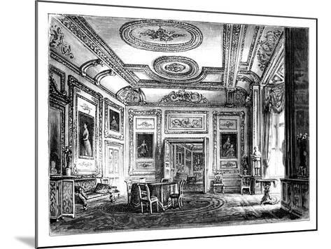 Thw White Drawing Room, Windsor Castle, C1888--Mounted Giclee Print
