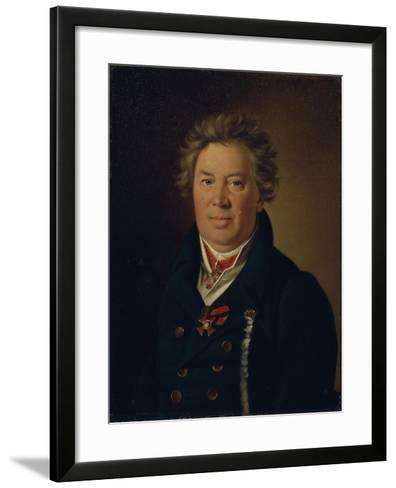 Portrait of the Architect Fyodor Kirillovich Sokolov (1752-182), 1819-Nikolai Ivanovich Argunov-Framed Art Print