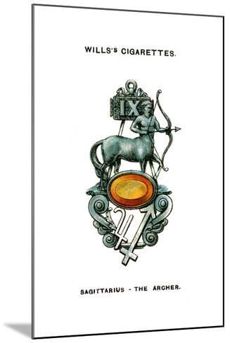 Sagittarius, the Archer, 1923--Mounted Giclee Print