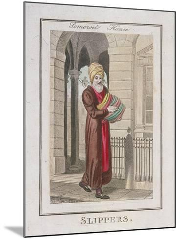 Slippers, Cries of London, 1804-William Marshall Craig-Mounted Giclee Print