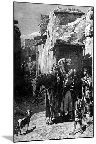 St Louis, King of France, Seeking Refuge from the Saracens-Edouard Zier-Mounted Giclee Print