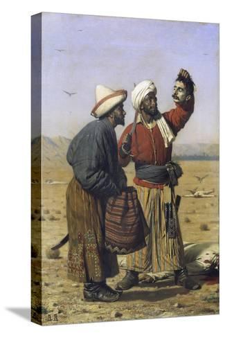 Success, 1868-Vasili Vasilyevich Vereshchagin-Stretched Canvas Print