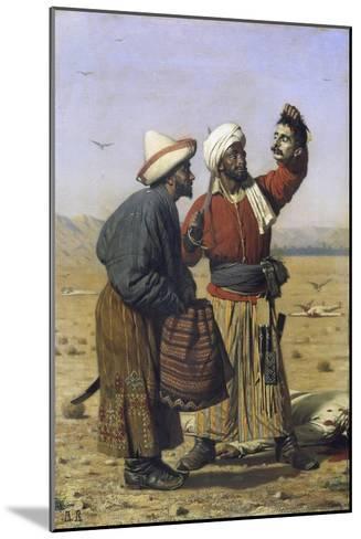 Success, 1868-Vasili Vasilyevich Vereshchagin-Mounted Giclee Print