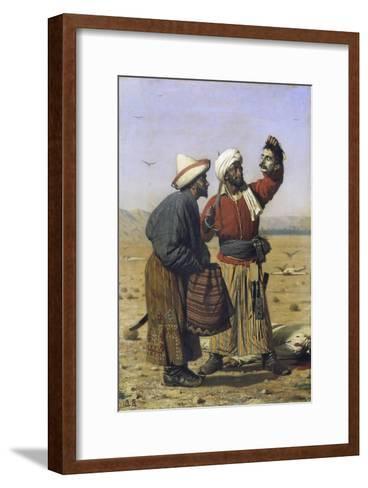 Success, 1868-Vasili Vasilyevich Vereshchagin-Framed Art Print