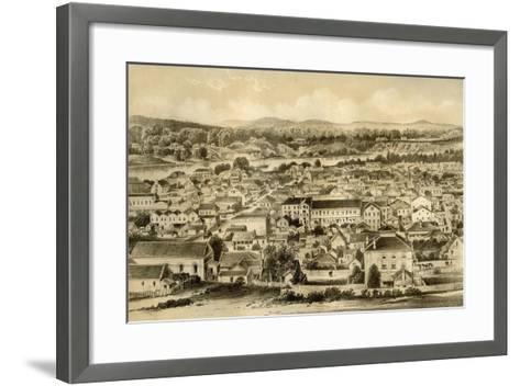 Brisbane, Queensland, Australia, 1879-McFarlane and Erskine-Framed Art Print