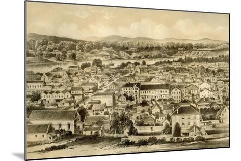 Brisbane, Queensland, Australia, 1879-McFarlane and Erskine-Mounted Giclee Print