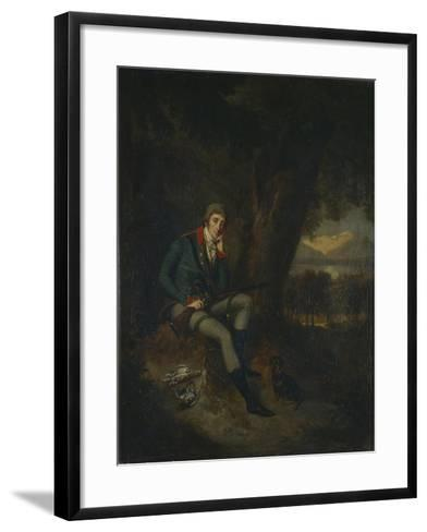 Portrait of Count Nikita Petrovich Panin (1770-183) in Hunting Dress-Ludwig Guttenbrunn-Framed Art Print