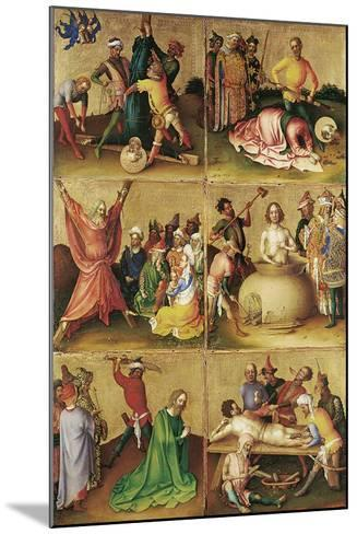 Martyrdom of the Apostles. Left Panel-Stephan Lochner-Mounted Giclee Print