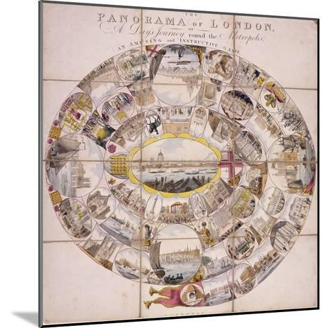 View of London, 1809--Mounted Giclee Print