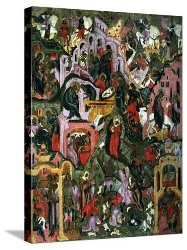 The Nativity of Christ (The Holy Night), Second Half of the 17th C--Stretched Canvas Print