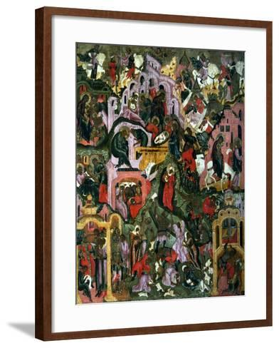 The Nativity of Christ (The Holy Night), Second Half of the 17th C--Framed Art Print
