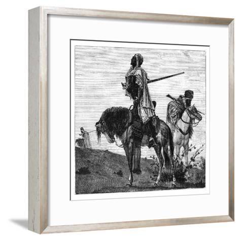 Bedouins at Prayer, C1890--Framed Art Print