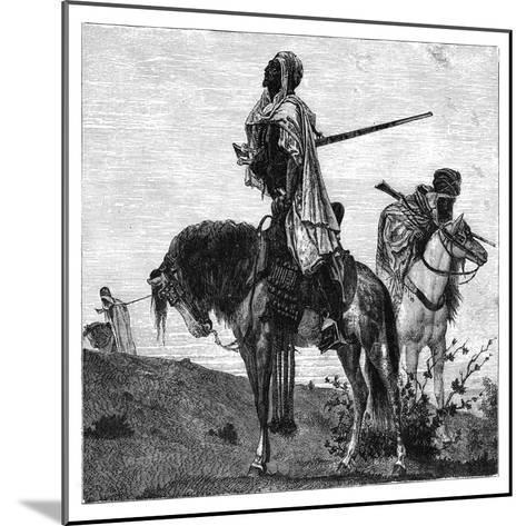 Bedouins at Prayer, C1890--Mounted Giclee Print