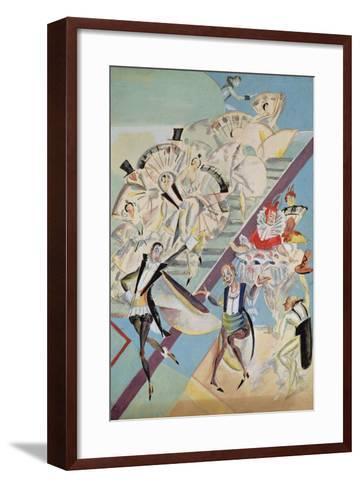 Stage Design for the Operetta Girofle-Giroflia by Ch. Lecocq, 1922-Georgi Bogdanovich Yakulov-Framed Art Print