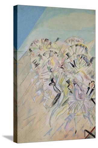 Stage Design for the Operetta Girofle-Giroflia by Ch. Lecocq, 1922-Georgi Bogdanovich Yakulov-Stretched Canvas Print