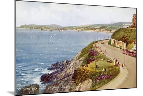 Douglas Bay from Onchan Head, Isle of Man, C1930S-C1940S-Valentine & Sons-Mounted Giclee Print
