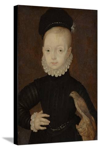 James VI and I (1566-162), King of Scotland, as Child, 1574-Arnold Bronckhorst-Stretched Canvas Print